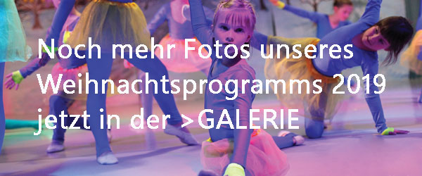 Weihnachtsprogramm Dance Department 2019
